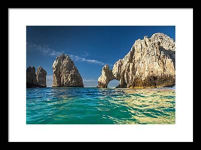 Mexico Beach Framed Prints