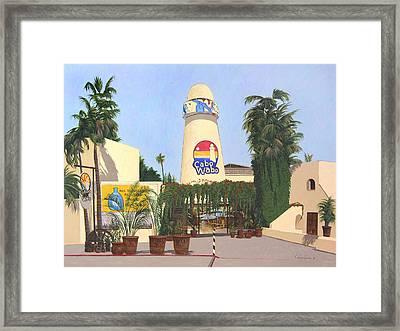 Cabo Wabo Cantina Framed Print