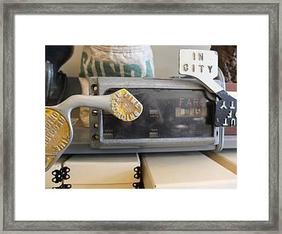 Cabometer Framed Print by Scott Kingery