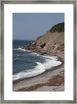 Cabot Trail Scenery Framed Print