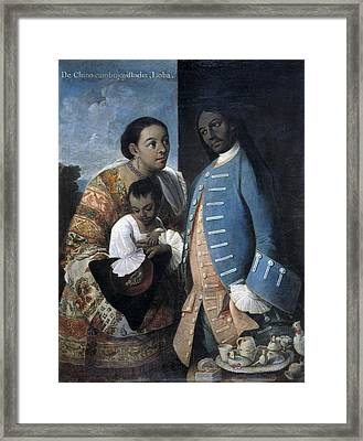 Cabrera, Miguel 1695-1768. De Framed Print by Everett