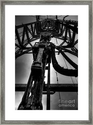 Cac001bw-13 Framed Print by Cooper Ross