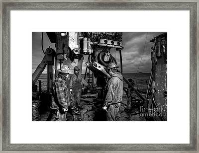 Cac001bw-21 Framed Print by Cooper Ross