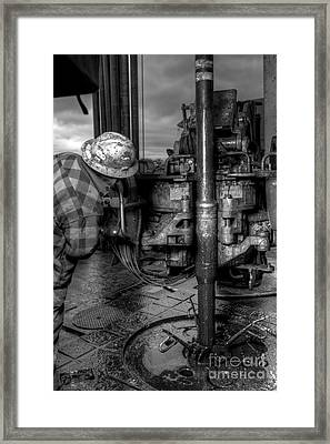 Cac001bw-35 Framed Print by Cooper Ross