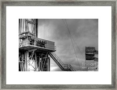 Cac001bw-43 Framed Print by Cooper Ross