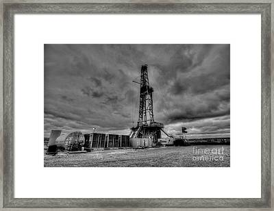 Cac001bw-44 Framed Print by Cooper Ross