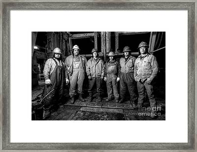 Cac001bw-61 Framed Print by Cooper Ross