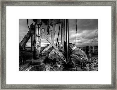 Cac01bw-26 Framed Print by Cooper Ross