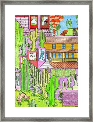 Cacti4j Framed Print