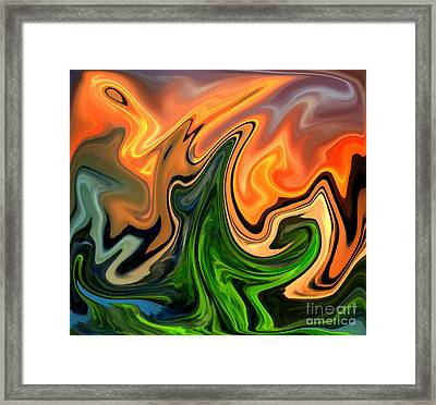 Cactus Framed Print by Chris Butler