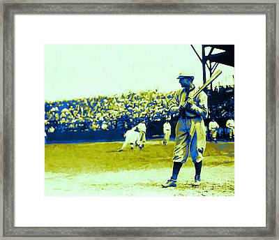 Cactus League - 20130207 Framed Print by Wingsdomain Art and Photography