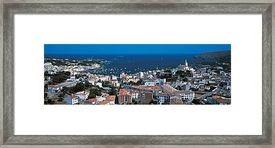 Cadaques Costa Brava Spain Framed Print by Panoramic Images
