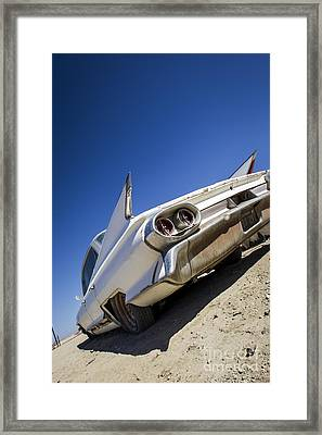Caddilac Dreams - Metal And Speed Framed Print by Holly Martin