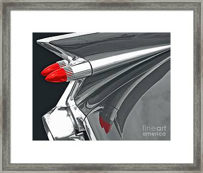 Caddy Classic Black And White Framed Print
