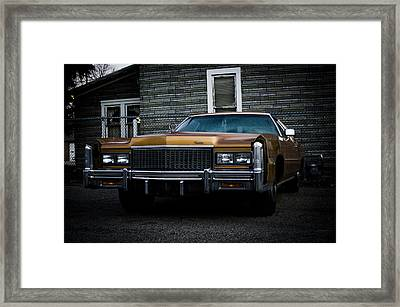 Caddy  Framed Print by Off The Beaten Path Photography - Andrew Alexander