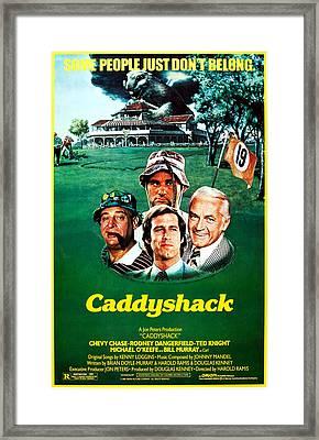Caddyshack, Us Poster Art, From Left Framed Print by Everett