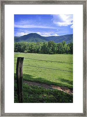 Cades Cove 1 Framed Print