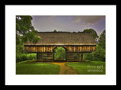 Cantilever Barn Framed Prints