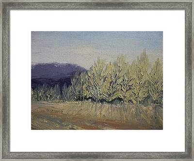 Cades Cove Framed Print