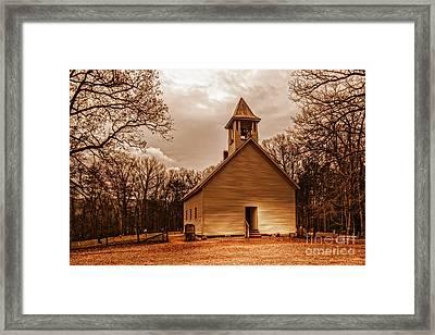 Cades Cove Primitive Baptist Church Framed Print