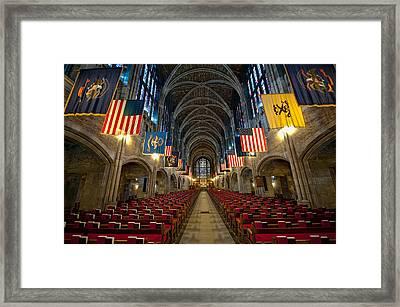 Cadet Chapel Framed Print