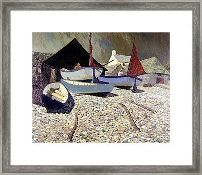 Cadgwith The Lizard Framed Print by Eric Hains