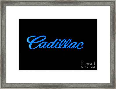 Cadillac Framed Print by Andres LaBrada