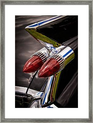 Cadillac Fin Framed Print by Phil 'motography' Clark