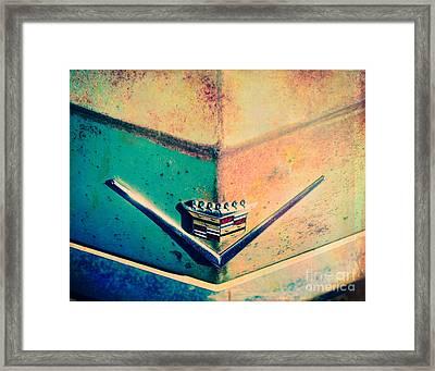 Cadillac In The Sun Framed Print