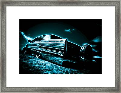 Cadillac Lowrider Framed Print