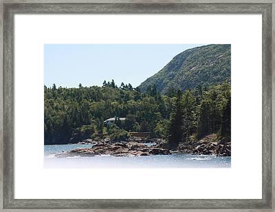 Cadillac Mountain - Bar Harbor Framed Print by Dora Sofia Caputo Photographic Design and Fine Art