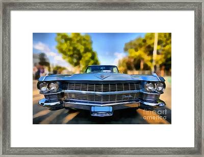 1964 Cadillac Series 62 Deville Framed Print by George Atsametakis