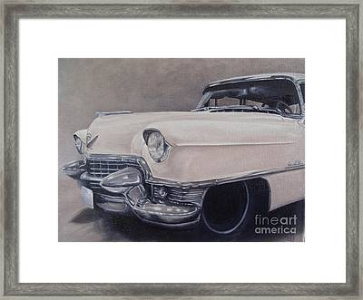 Cadillac Study Framed Print by Pauline Sharp
