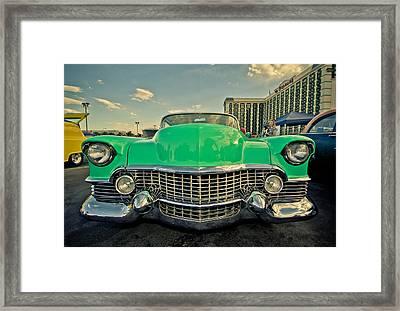 Cadillac Style  Framed Print