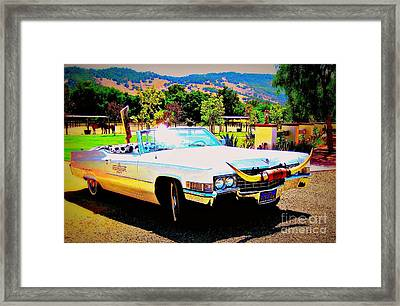 Cadillac Supreme Framed Print by Jodie  Scheller