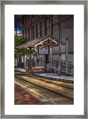 Cadrecha Plaza Station Framed Print