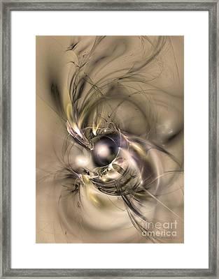 Caelestis - Abstract Art Framed Print