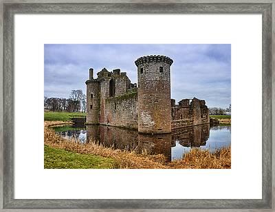 Caerlaverock Castle Framed Print