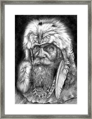 Caesar Of The Wilderness Framed Print