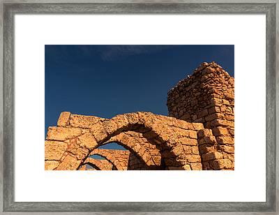 Caesarea Framed Print