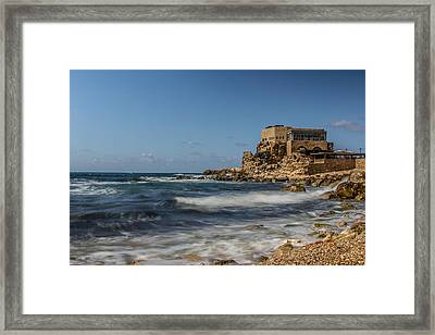 Caesarea Maritima Framed Print