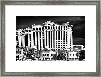 Caesars Framed Print by John Rizzuto