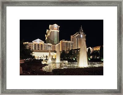 Caesar's Palace Las Vegas Framed Print