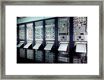 Caesium Beam Atomic Clocks Framed Print by Us National Archives