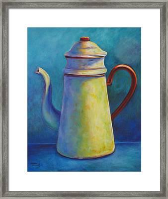 Cafe Au Lait Framed Print by Shannon Grissom