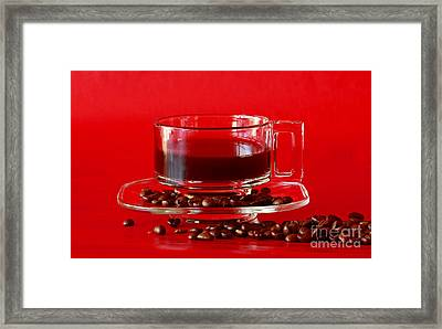 Cafe Delight Framed Print