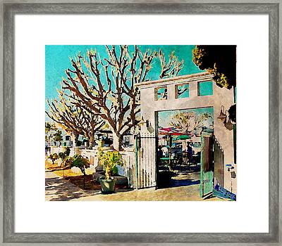 Cafe Diego Framed Print by J S Watson