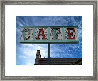 Cafe Framed Print by Glenn McCarthy Art and Photography