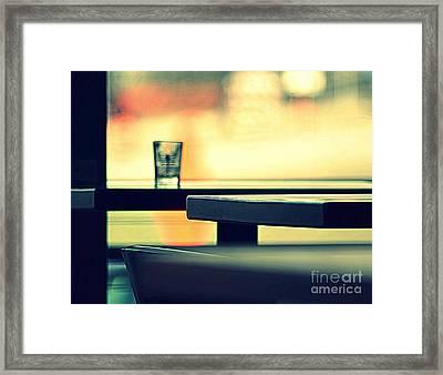 Cafe II Framed Print by A K Dayton