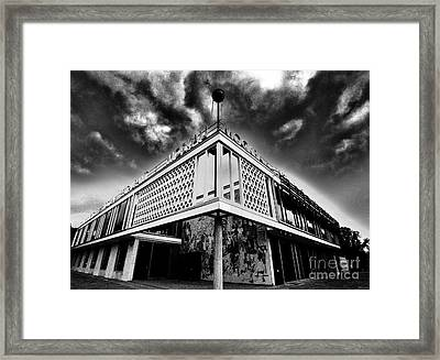Cafe Moscow Berlin Framed Print by Andy Prendy